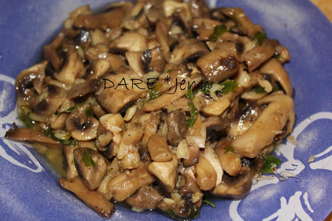 Champi ones al ajillo o setas cookinspanglish - Setas cultivadas al ajillo ...
