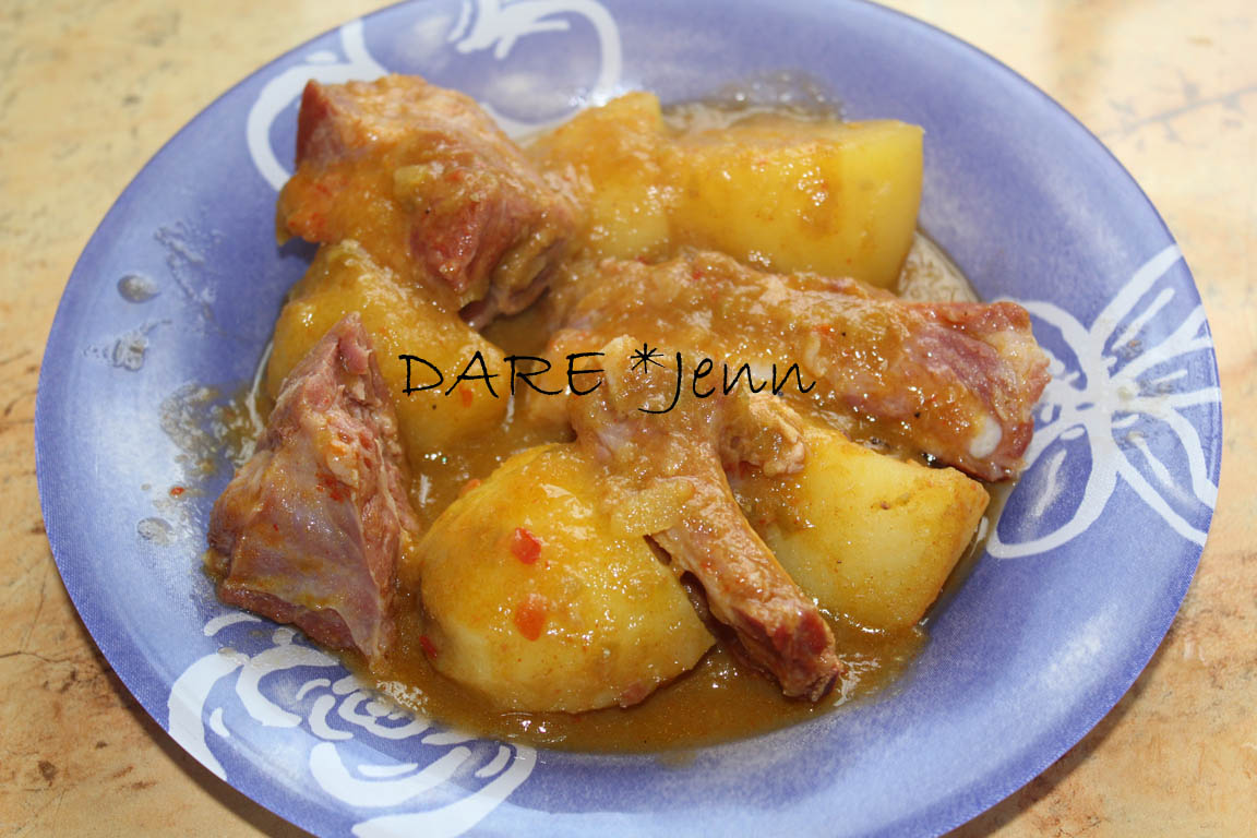 Patatas guisadas con costillas de cerdo adobadas 2012 11 - Patatas con costillas de cerdo ...